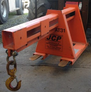 Forklift Boom Attachment