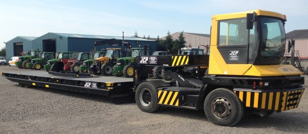 Tractor and Low Level Trailer Hire