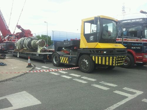 Terberg RT220 Site Tractor & Low Level Trailer Hire