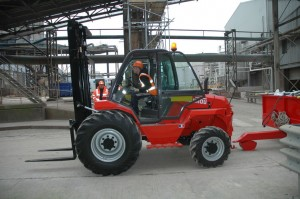 Rough Terrain Forklift Hire