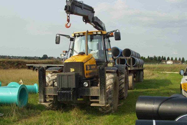 Skyhook 16.6 Tractor Mounted Crane Hire