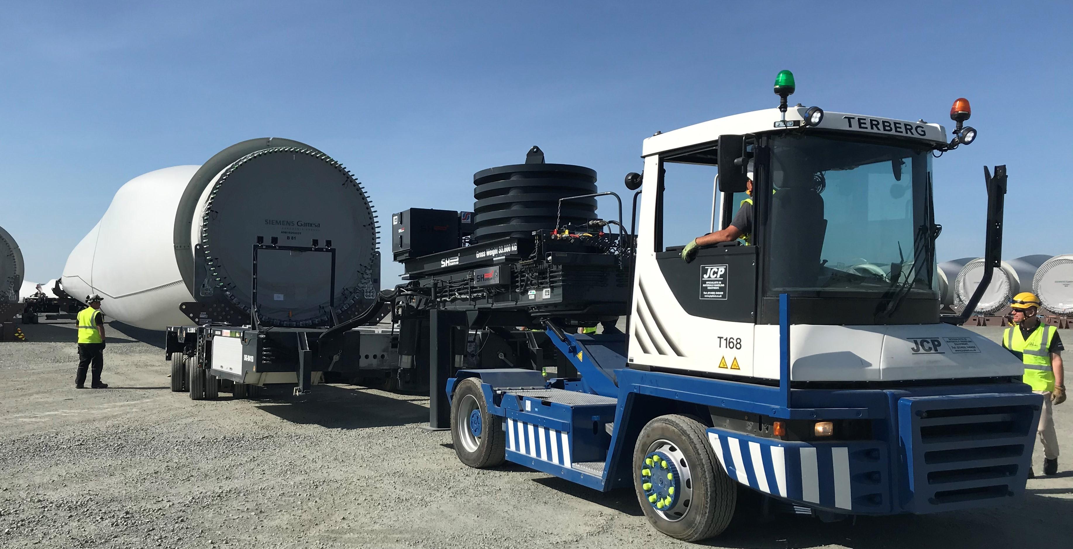 Terberg Heavy Tractor Hire